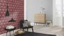 Room picture Barbara Becker bb Home Passion wallpaper plain grey 479348 3