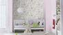 Kid's Wallpaper Plain Plaster Look pink Rasch 247435 3