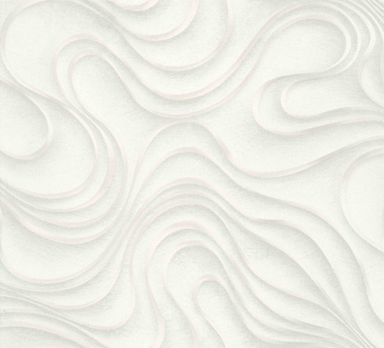 Colani Tapete Evolution Marburg Wellen creme 56320
