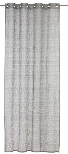 Eyelet Drape semi-transparent Colourful textured grey 197865 online kaufen