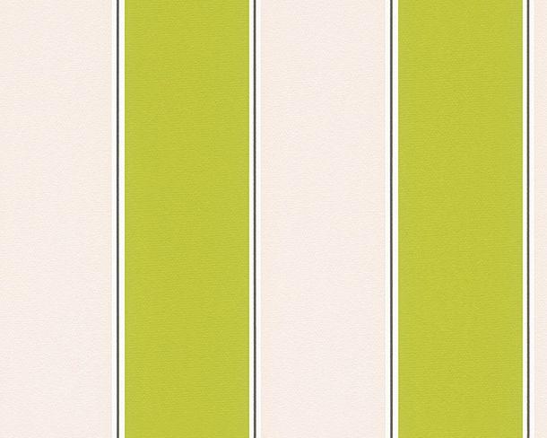 Michalsky Tapete Streifen Designer grün creme 30459-4