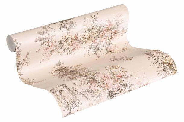 Wallpaper non-woven 30429-2 nature beige rose online kaufen