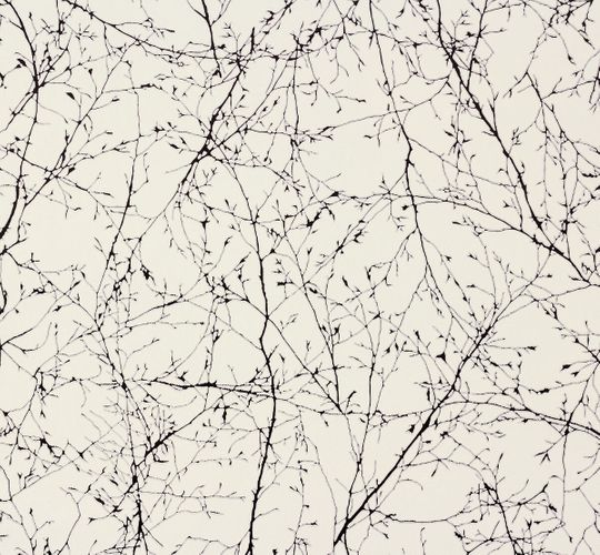 Wallpaper Natur white black AS Creation Elegance 30507-3