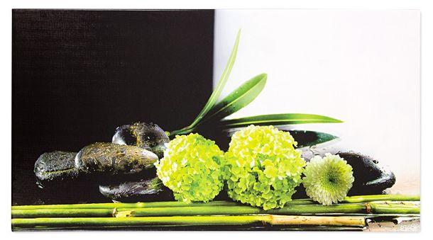 Keilrahmen Wandbild Natur grün 50x100 online kaufen