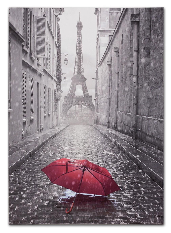 Keilrahmen Wandbild Paris Eiffelturm schwarzweiß 60x90 001 9c6eded643