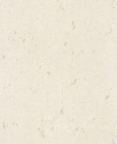 Wallpaper Non-Woven plain used Glitter white cream 227313 buy online