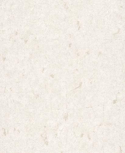 Tapete Vlies Uni Used Glitzer cremeweiß Rasch Textil 227320