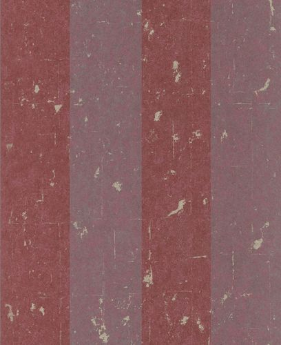 Wallpaper Non-Woven Block-Striped used Glitter red grey 227337 online kaufen