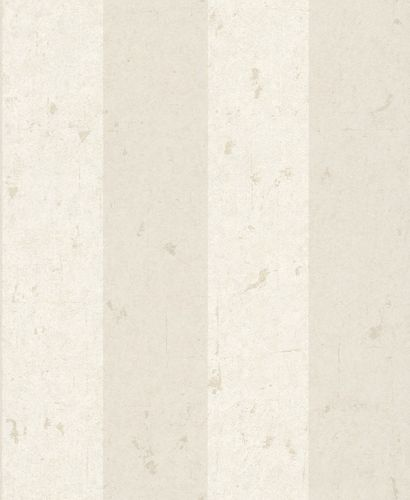 Wallpaper Non-Woven Block-Striped used Glitter taupe white 227382 online kaufen