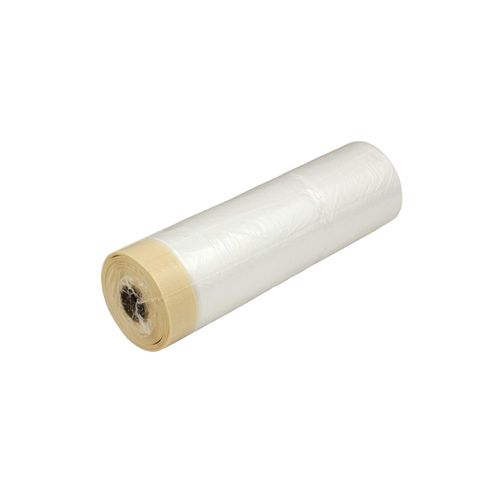 Combi-Mask Crepe Tape and Dust Cover 140cm x 33m