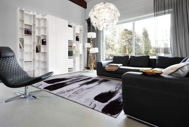 Carpet Astra Verona grey black used 162040 online kaufen