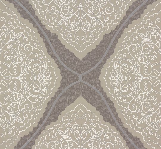 Marburg wallpaper ornamental-design grey beige 57101 online kaufen
