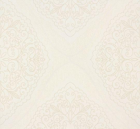 Zuhause Wohnen Tapete Verzierung creme beige 57103 online kaufen