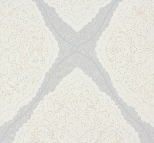 Marburg wallpaper ornamental-design grey cream 57104 online kaufen