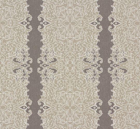Zuhause Wohnen Tapete Floral grau beige 57106 online kaufen