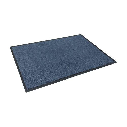 Schmutzfangmatte Fußmatte Classic Clean Meliert blau