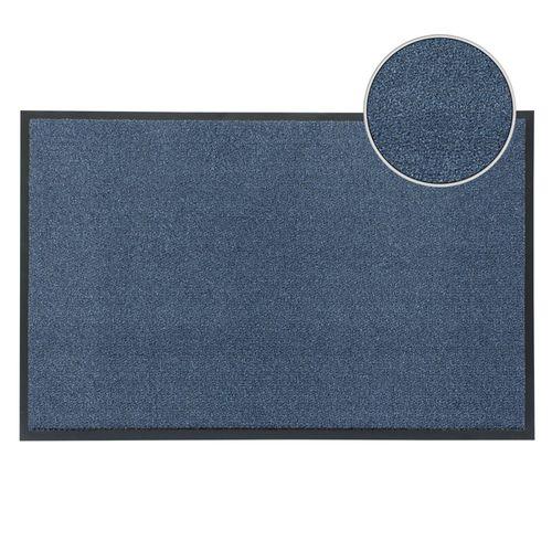 Schmutzfangmatte Fußmatte Classic Clean Meliert blau online kaufen
