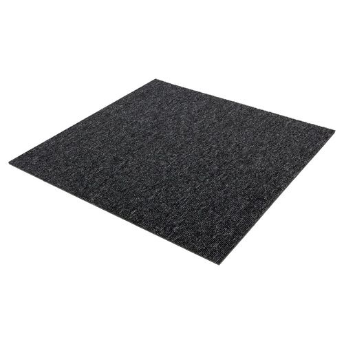 Carpet Tile Heavy Duty black Diva 50x50 cm online kaufen