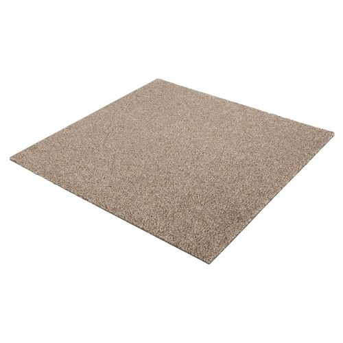 Carpet Tile Velour Heavy Duty beige Intrigo 50x50 cm online kaufen