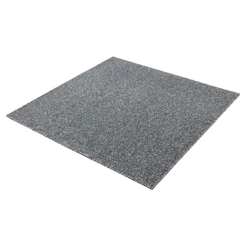 Carpet Tile Velour Heavy Duty grey Intrigo 50x50 cm online kaufen