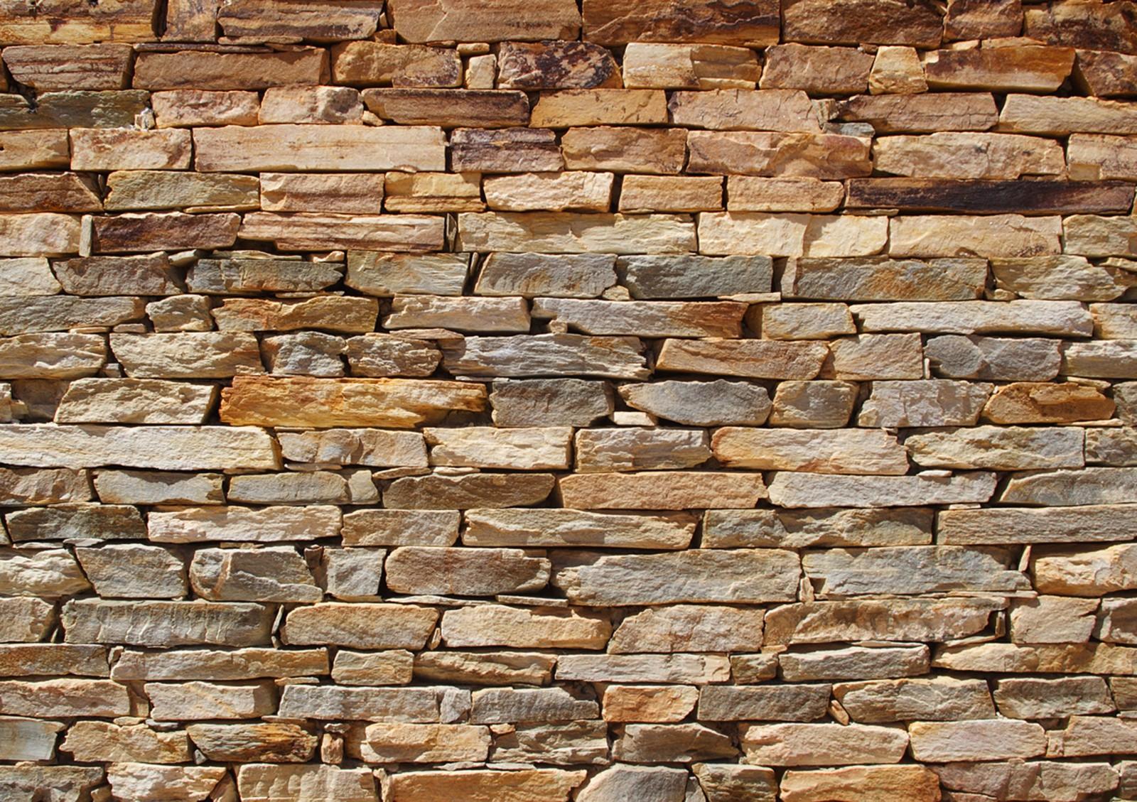 Fototapete Tapete Steinmauer Stein Steinwand 360x254cm