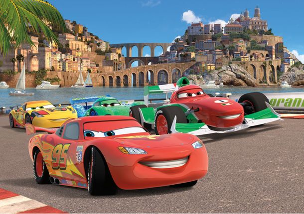 Disney Photo Wallpaper Mural Cars McQueen 360x254cm online kaufen
