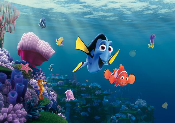 Disney Photo Wallpaper Mural Finding Nemo Dori 360x254cm online kaufen