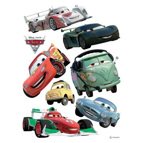 Disney Wall Sticker Decoration Cars McQueen 65x85cm