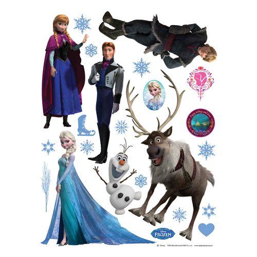 Disney Wall Sticker Decoration Frozen 65x85cm