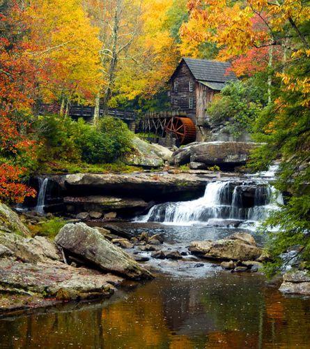 Fototapete Tapete Wasser Mühle Natur Wasserfall 180x202cm online kaufen