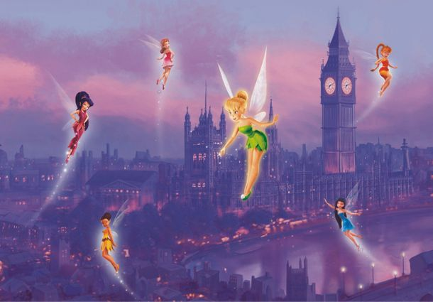 Disney Mural XL Photo Wallpaper Fairy Tinkerbell Girls online kaufen