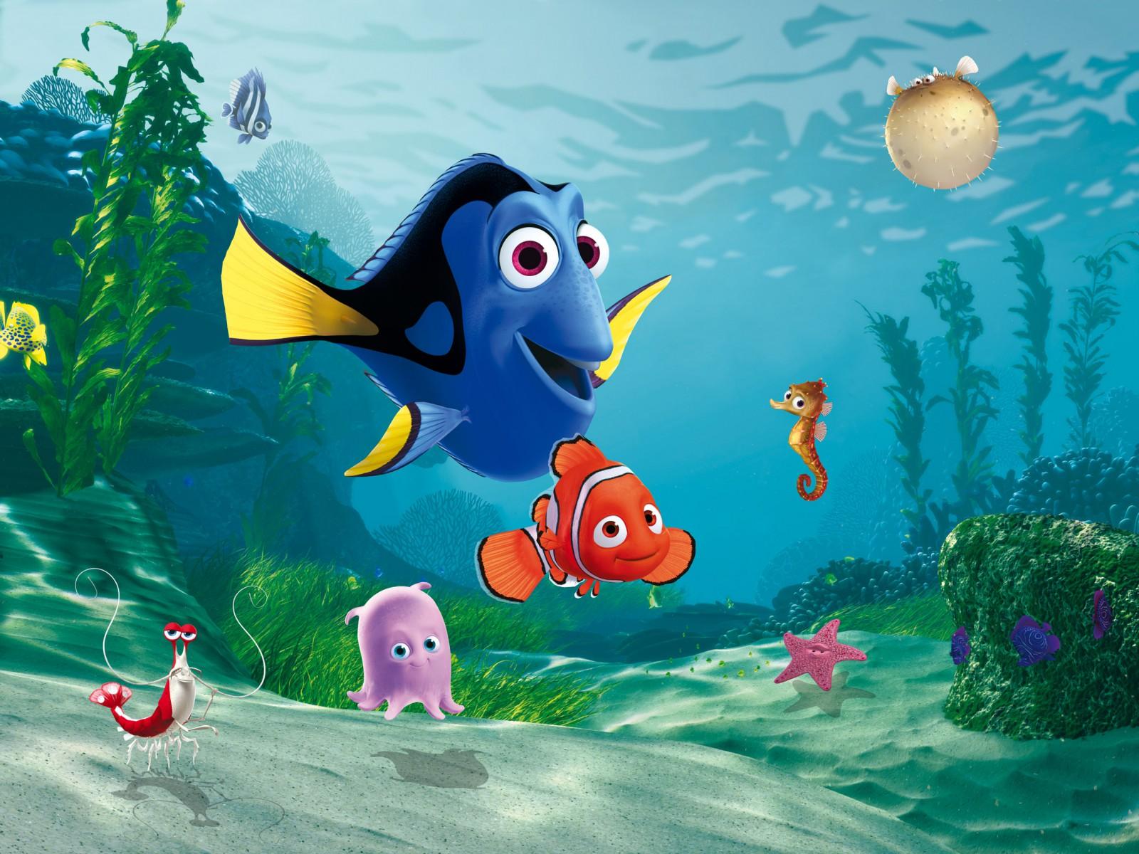 Disney Xl Photo Wallpaper Mural Finding Nemo Kids