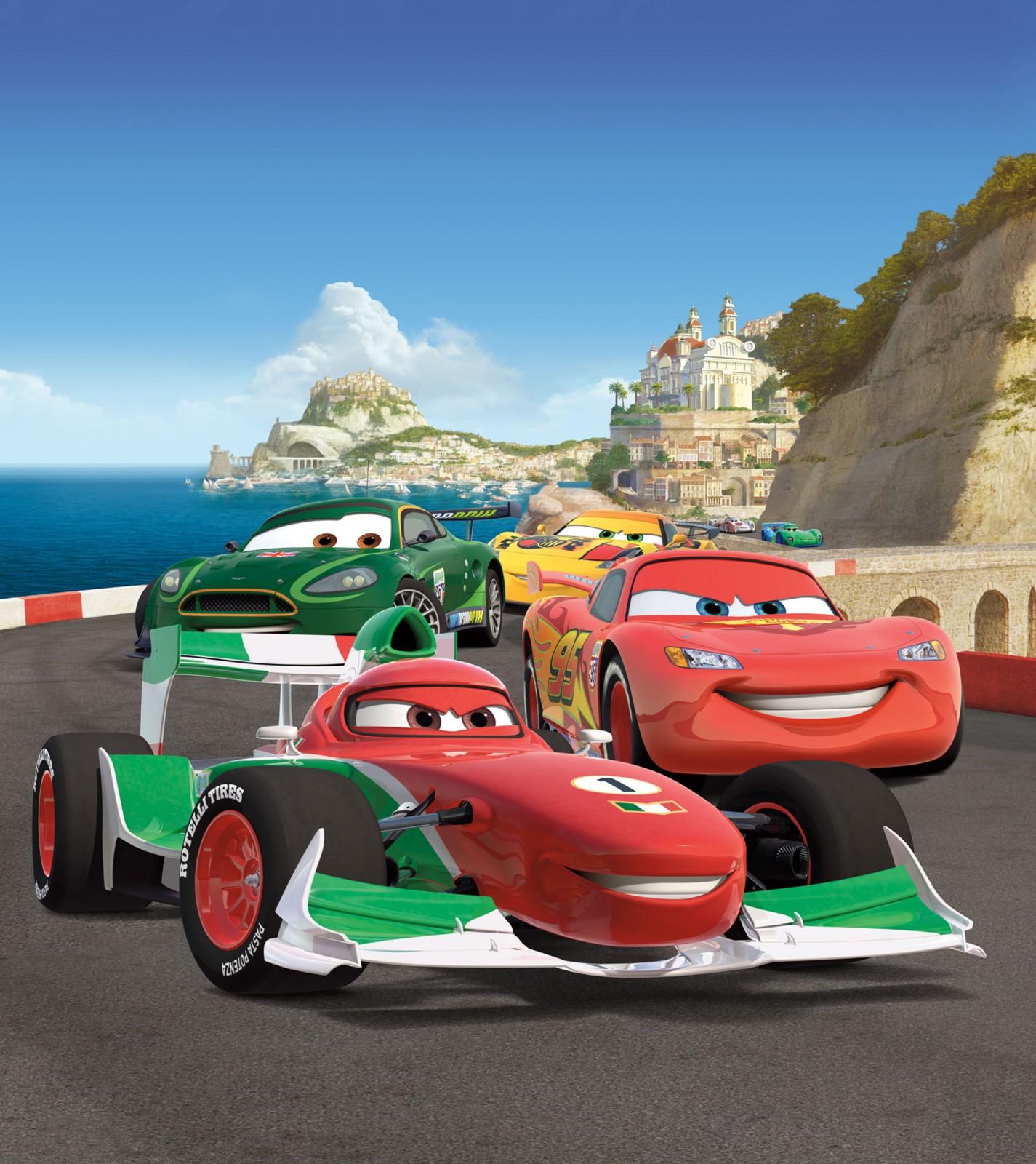 Disney Xl Photo Wallpaper Mural Cars Lightning Mcqueen