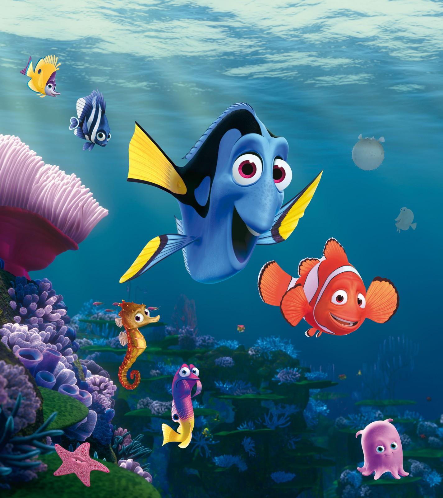 Disney XL Fototapete Tapete Findet Nemo Dori Kinder