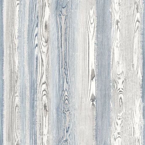 Tapete Vlies Holzoptik Holz World Wide Walls taupe 048626