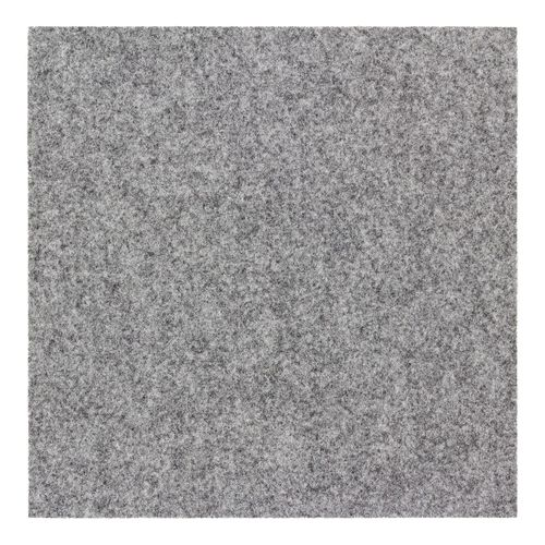Carpet Tile self-adhesive Needle Felt grey