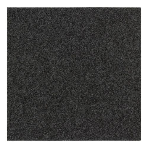 Carpet Tile self-adhesive Needle Felt black