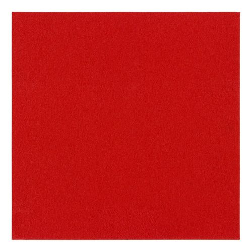 Carpet Tile self-adhesive Needle Felt red
