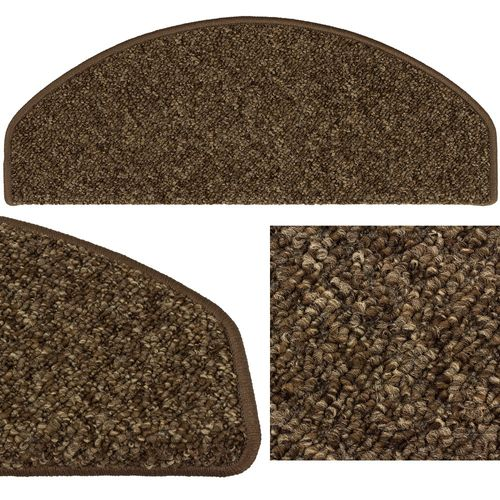 10-30 Set of Stair Tread Mats Rustik Texture Sling brown 28x65cm buy online
