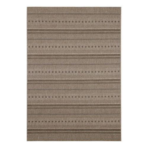 Carpet Flatwoven Rug striped ethnic Andria beige online kaufen