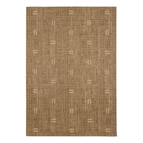 Teppich Astra Kurzflor Balken Streifen Andria braun beige  online kaufen