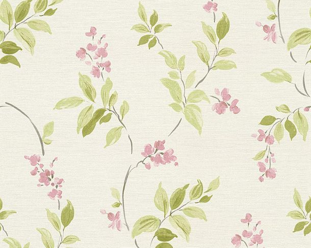Wallpaper floral nature AS Creation beige green 30416-2 online kaufen