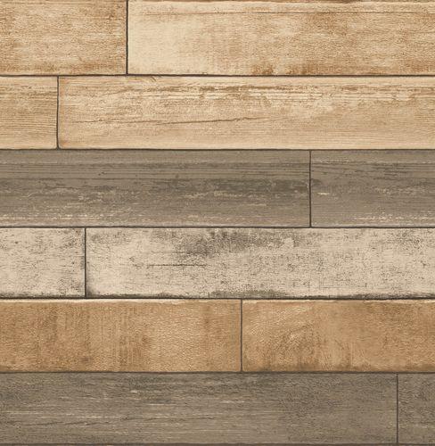 Vliestapete Holz-Optik Holzlatten creme 022346 online kaufen