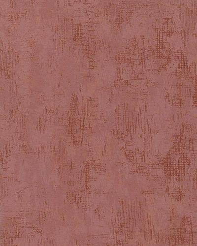Wallpaper Marburg textured-design metallic red copper 58004 online kaufen