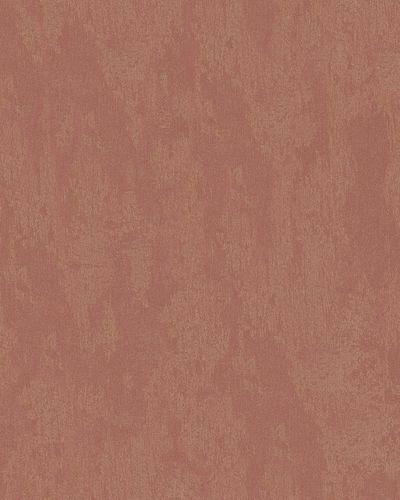 Vliestapete Putz-Optik Uni rotkupfer gold Metallic 58019 online kaufen