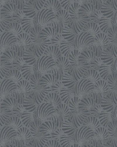 Tapete Vlies Grafik-Design Glitzer grau Marburg 58029