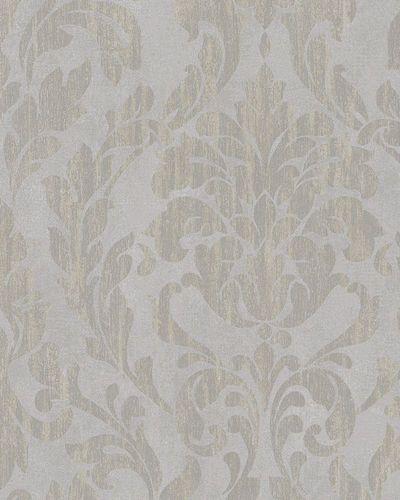 Tapete Vlies Ornamente Glanz grau taupe beige Marburg 58034 online kaufen