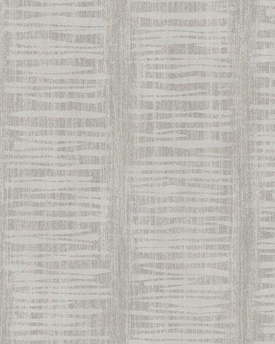 Tapete Vlies Gestreift Glanz taupe grau Marburg 58046 online kaufen