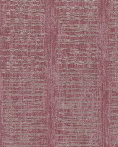 Wallpaper Marburg striped shine red silver gold 58047 online kaufen