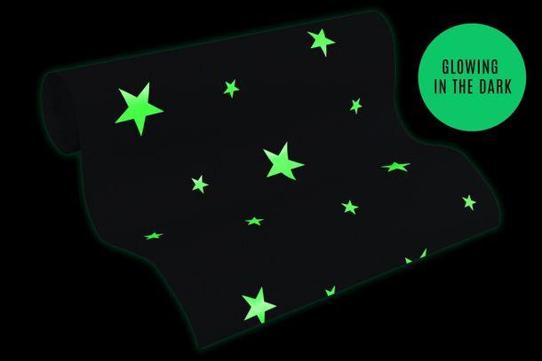 Tapete Leuchtend Leuchttapete Sterne taupe 32440-2 online kaufen